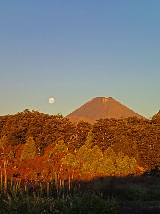 Mount Ruapehu, New Zealand.