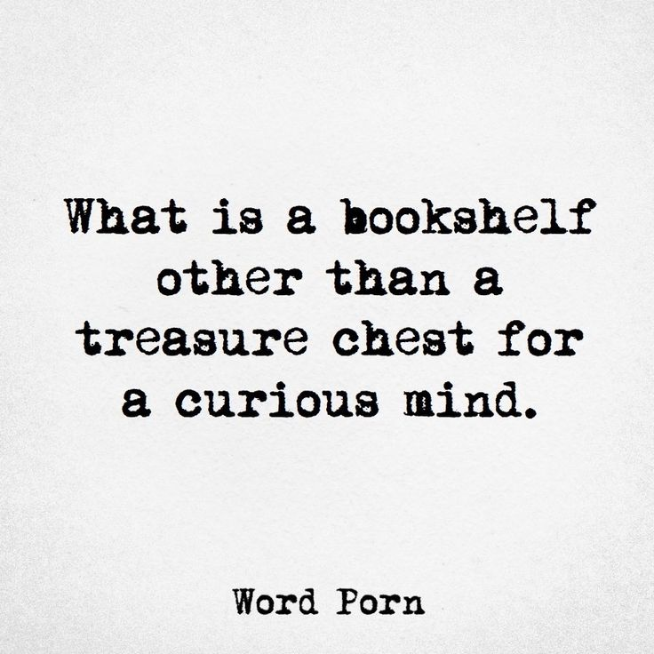 Bookshelf is a treasure chest for the curious mind.