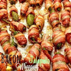 Bacon wrapped jalapenos - ricetta Tex Mex