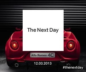 #thenextday #DavidBowie Day #8 #AlfaRomeo4C http://on.fb.me/10XD2fO