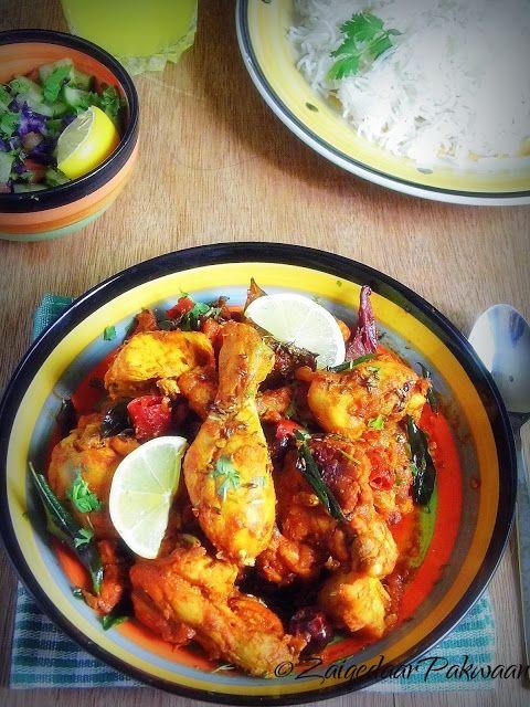 ZaiqedaarPakwaan: Jaipuri Spicy Chicken