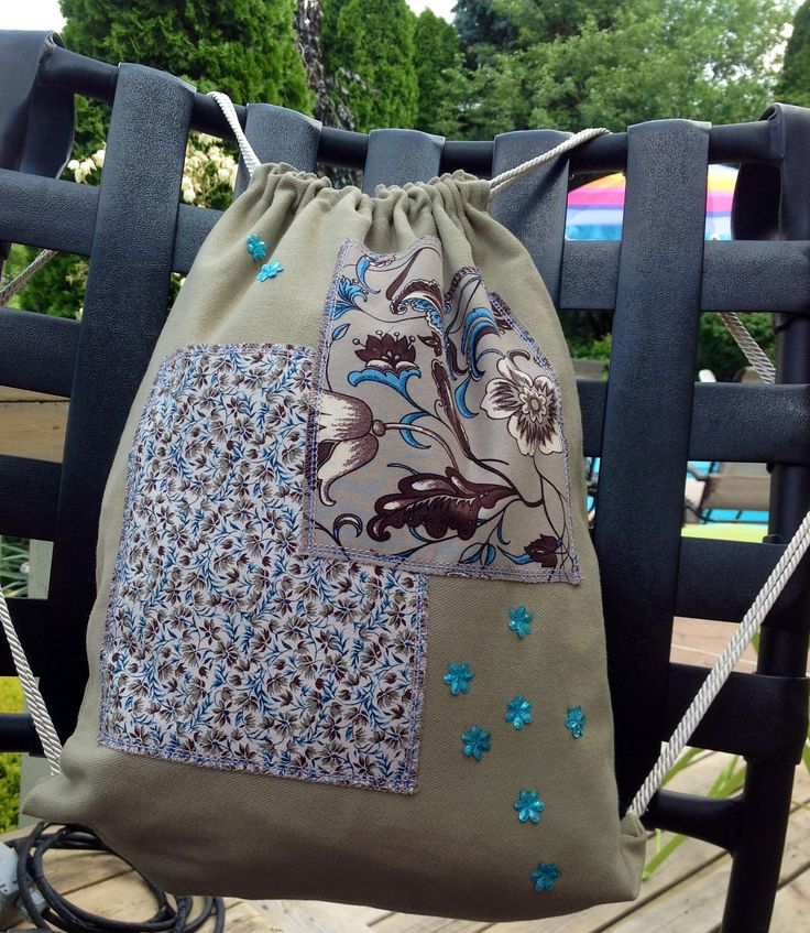 Lovely, embellished back pack! SunSplash sale; $8.00 SOLD