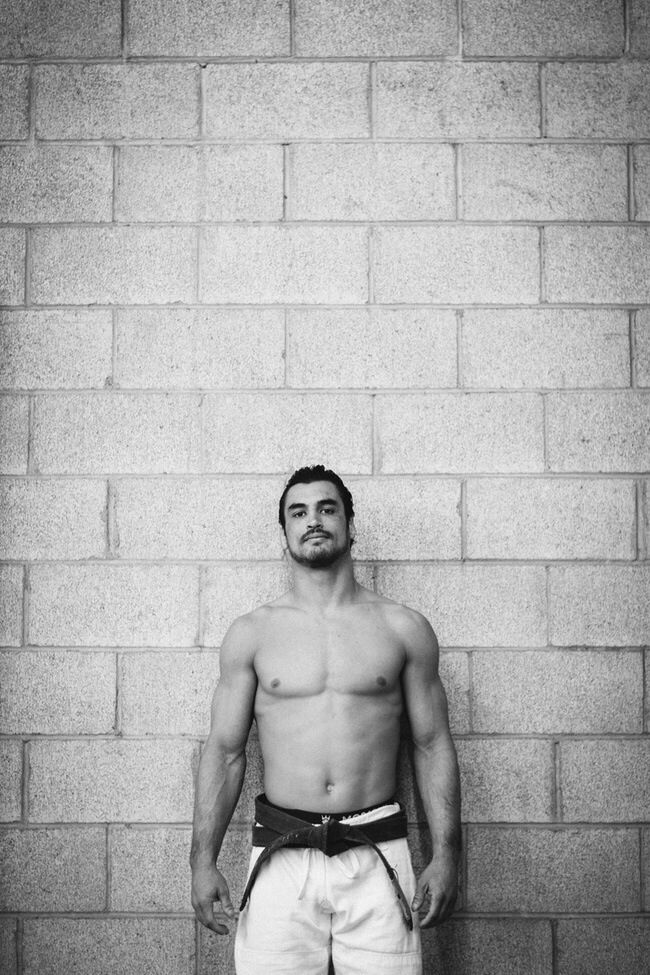 Kron Gracie is the only son of the epic Rickson Gracie. Kron is epic.