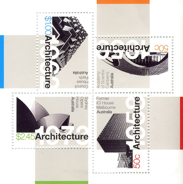 Modern Architecture Stamps, 2007
