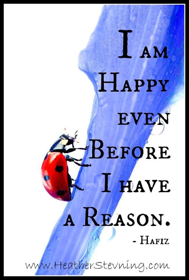 I AM HAPPY......