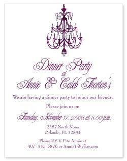 banquet invitations