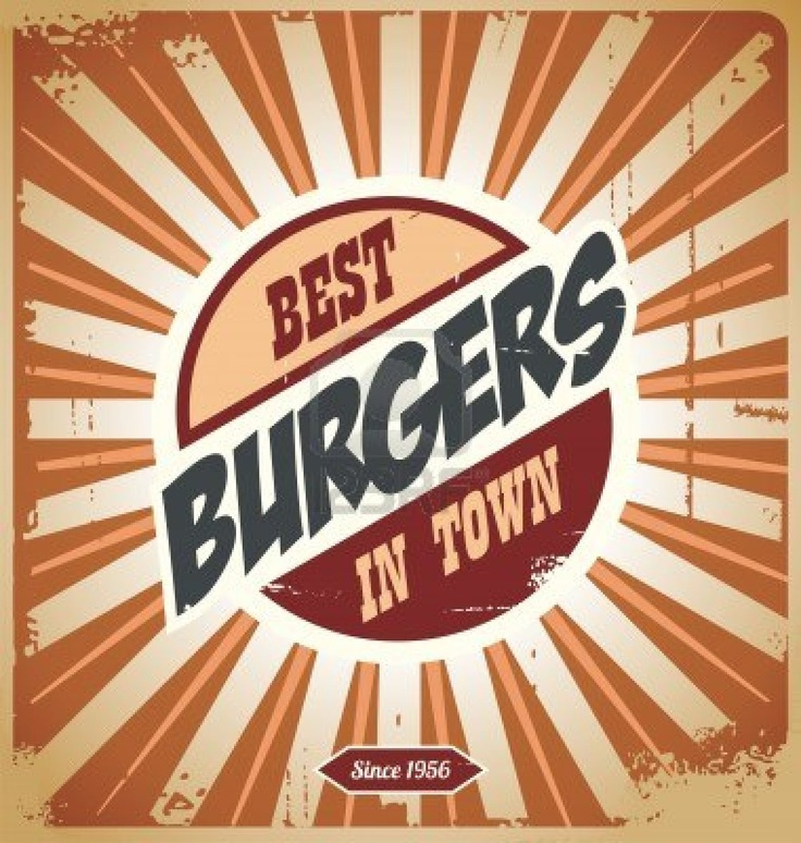 Best Burgers In Town Painting Inspiration Pinterest