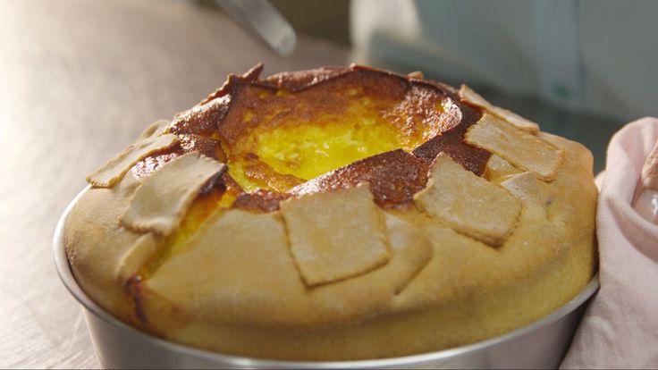 Vincenzo's fiadone cake (fiadone di Vincenzo)