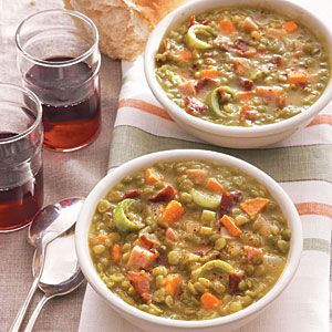 Split Pea Soup with Ham | MyRecipes.com