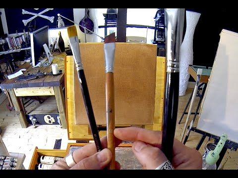 Brush Size Numbers - Acrylic Painting Tips