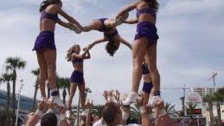 Cheerleading Fail Compilation! - YouTube