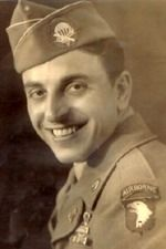 Easy Company Technician Fourth Grade Frank J. Perconte died October 24, 2013. He was a former non-commissioned officer during World War II with Easy Company, 2nd Battalion, 506th Parachute Infantry Regiment, 101st Airborne Division in the United States Army. He fought in the Battle of Normandy, Operation Market Garden, and the Battle of the Bulge. He was portrayed by James Madio in the HBO/BBC miniseries Band of Brothers. #ScreamingEagles  wikipedia.org