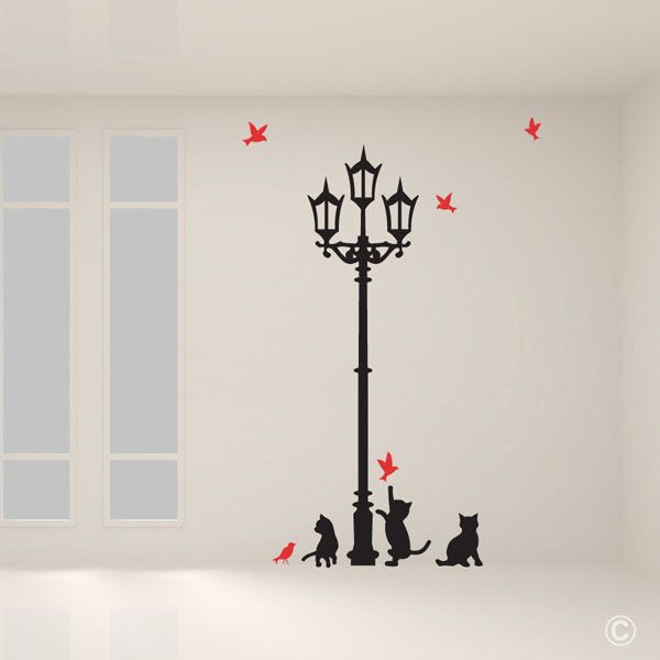 Lampost with Playful cats (WADD2)