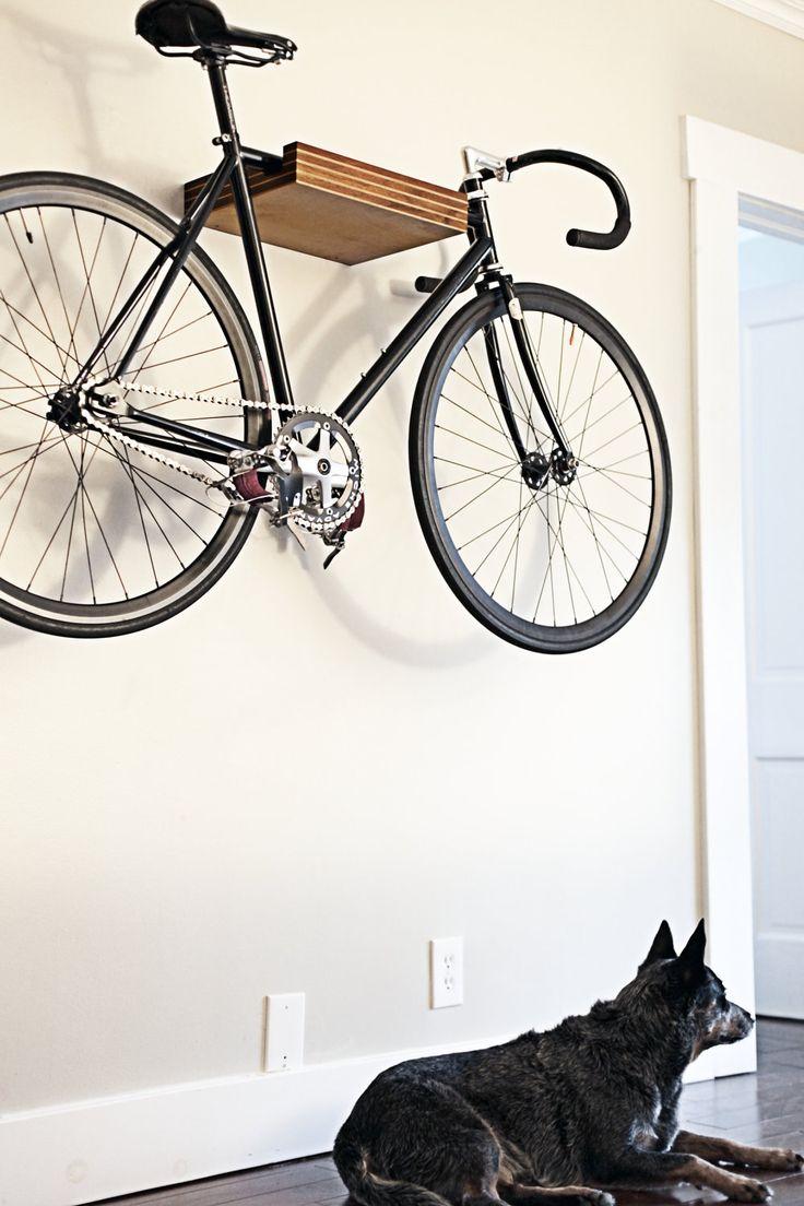 PINSTRIPe - Bike Shelf. $300.00, via Etsy.