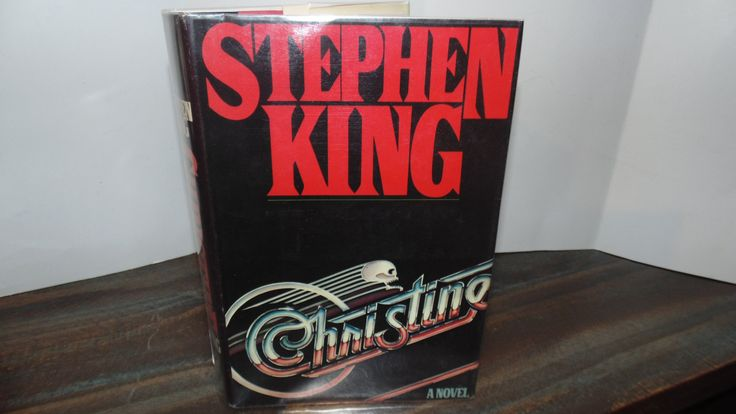 Vintage 1983 Christine Stephen King Book Club edition Viking Hardcover HCDJ  Book by AltmodischVintage on Etsy