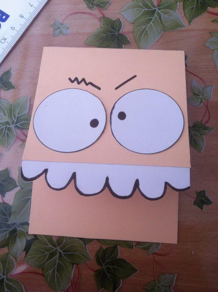 Card b-day #scrap #paper