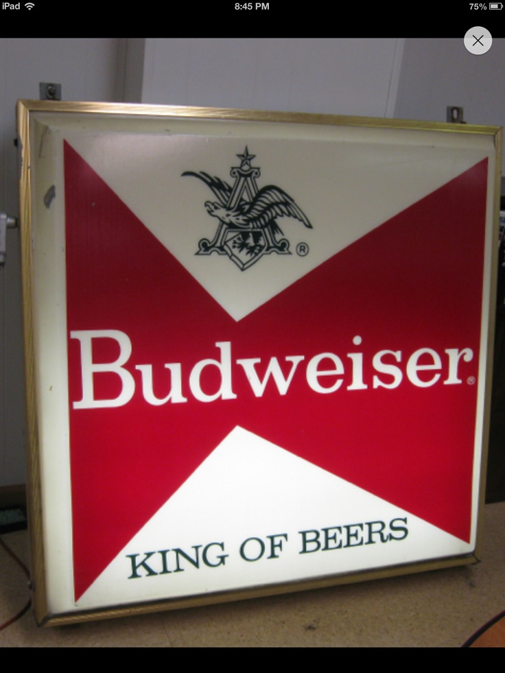 17 Best Images About Budweiser On Pinterest Counter