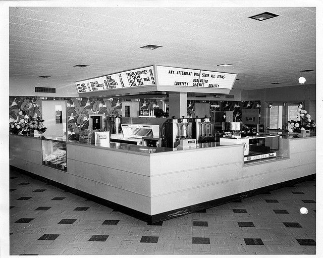 pictures of drive in movie theaters from 1950's | Sundown Concessions, 1955 | Flickr - Photo Sharing!