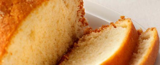 Yellow Pound Cake Recipe