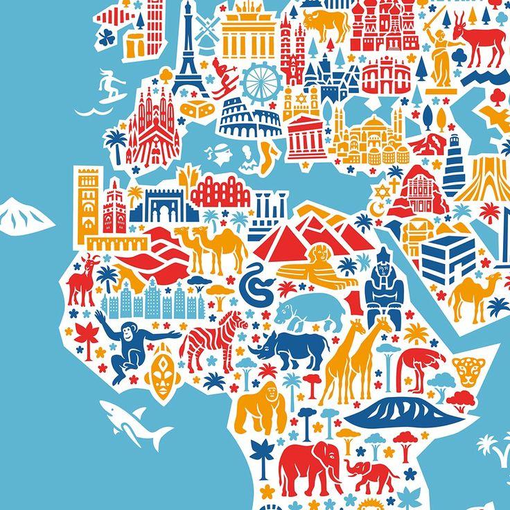 Cool My World Map is here Yesss http en vianina