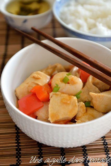 une aiguille dans l' potage: Poulet aigre-doux, de Ken Hom (糖醋鸡 tángcù jī)
