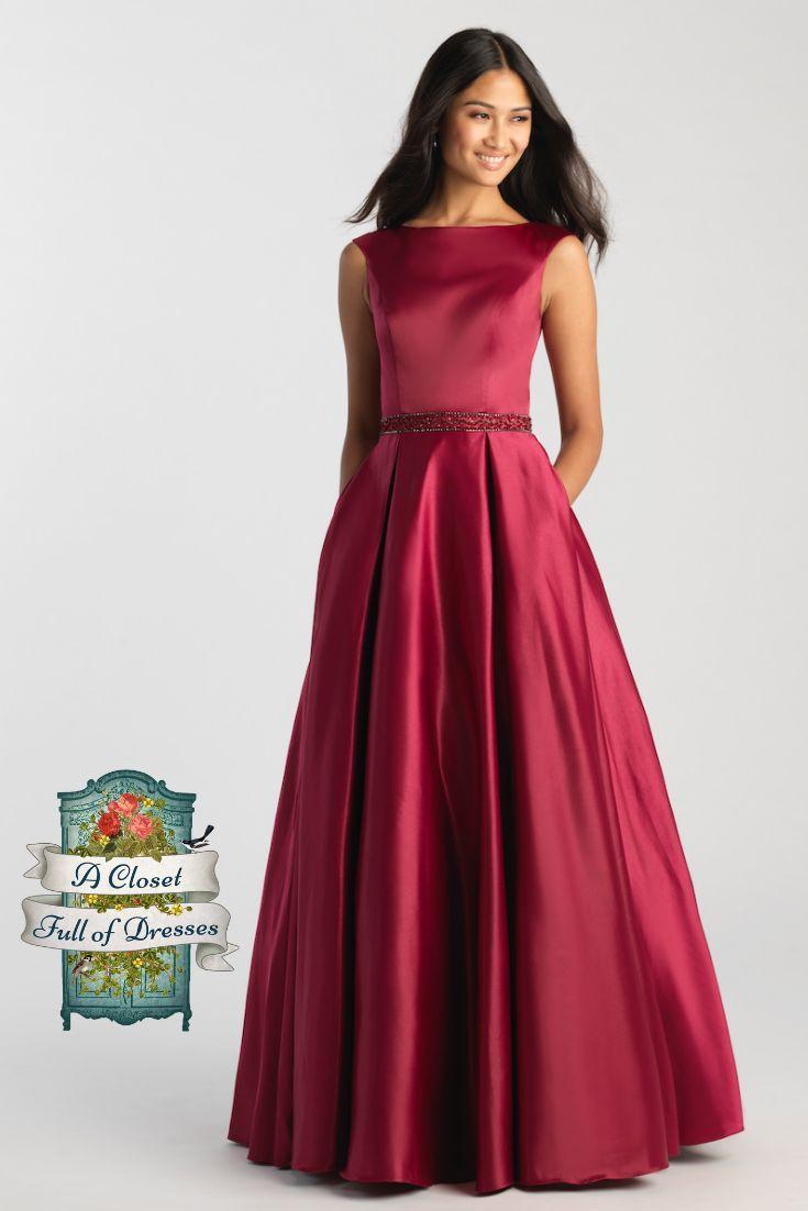 Mj 20 506m Burgundy Modest Prom Dress Prom Dresses Modest Conservative Dresses Prom Dress Inspiration [ 1102 x 735 Pixel ]