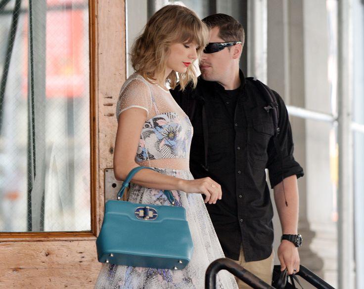 Taylor Swift with Bulgari Isabella Rossellini Bag