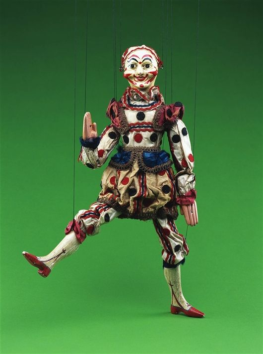 Clown -The Detroit Institute of Arts (DIA) Paul McPharlin Puppetry Collection