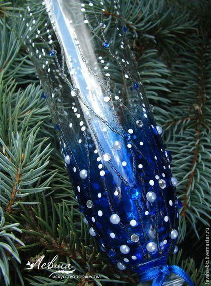 Купить или заказать Бокалы 'Зимняя сказка' в интернет-магазине на Ярмарке Мастеров. Новогодние бокалы 'Зимняя сказка' - станут прекрасным оформлением новогоднего стола или новогодним подарком для близких. Подобные бокалы украсят и зимнее свадебное торжество. Цена указана за пару бокалов фирмы «Bohemia Crystal». Возможно исполнение любого кол-ва бокалов.