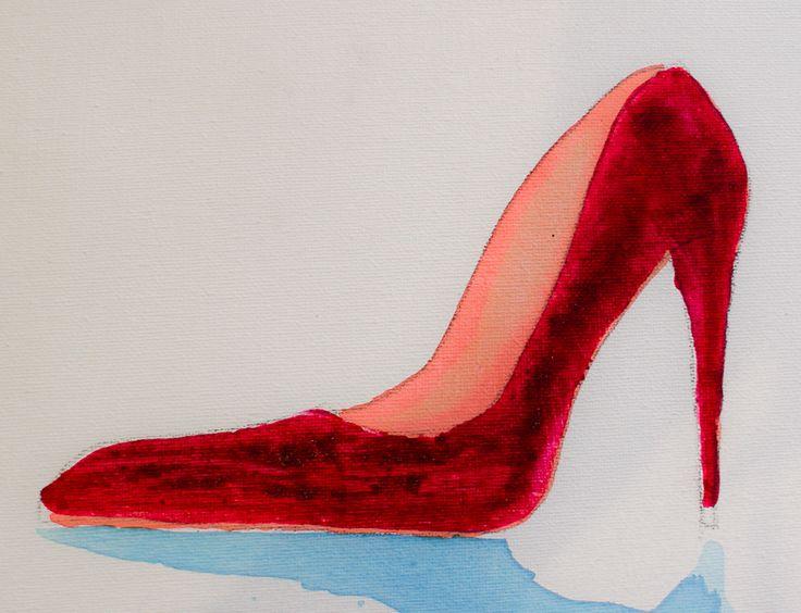 Slnky red shoe