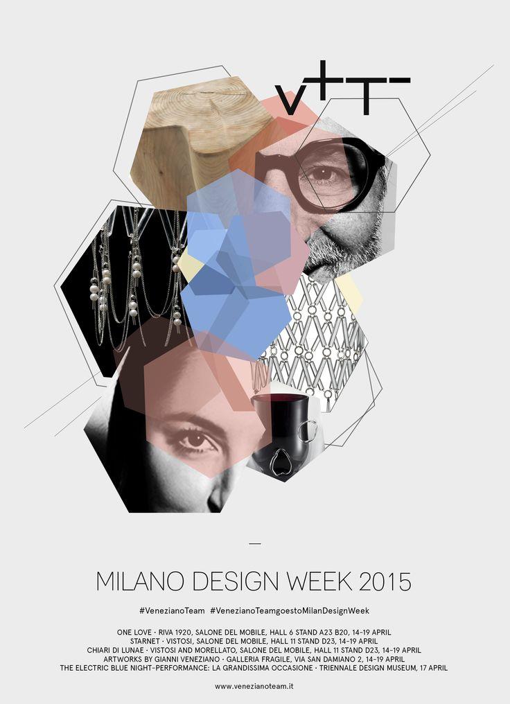 #MilanDesignWeek2015 #mdw2015 #mdw  #GianniVeneziano #LucianaDiVirgilio #Veneziano+Team #design #exhibition