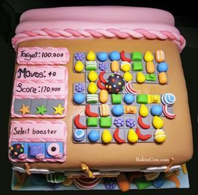 Candy Crush cake: nice!