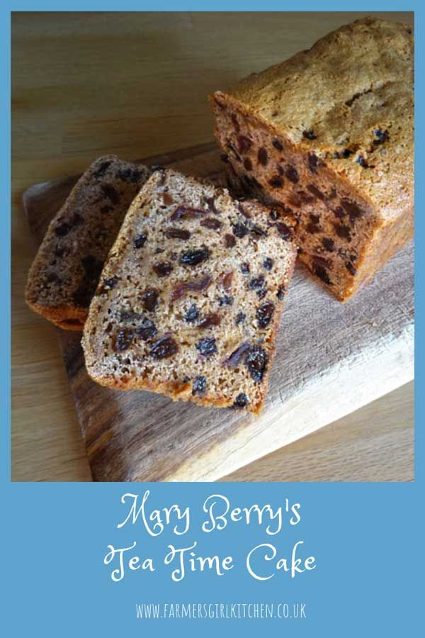 Mary Berry S Tea Time Cake Is Just What You Would Expect From The Queen Of Cakes It S Easy To Make And It T Fruit Cake Recipe Easy Tea Cakes Recipes Tea