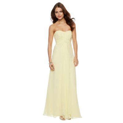 Debut Daisy Chiffon Bandeau Maxi Dress- at Debenhams.com
