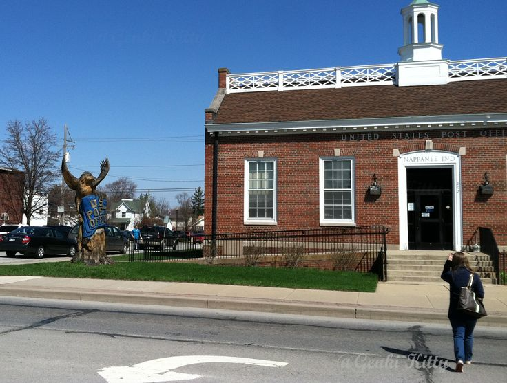 Nappanee, Indiana Post Office