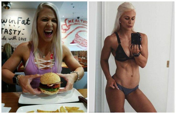 Personal australiana: É possível manter a boa forma comendo hambúrguer e doces