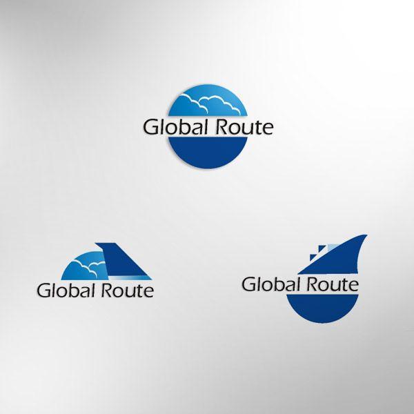 Diseño de marca para un software que ofrece soluciones de ubicación de rutas marítimas y aéreas, para que los usuarios pueda identificar dónde está ubicada su mercancía en tiempo real.