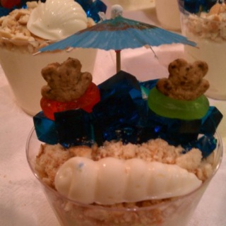 Beach Day Snack Cup