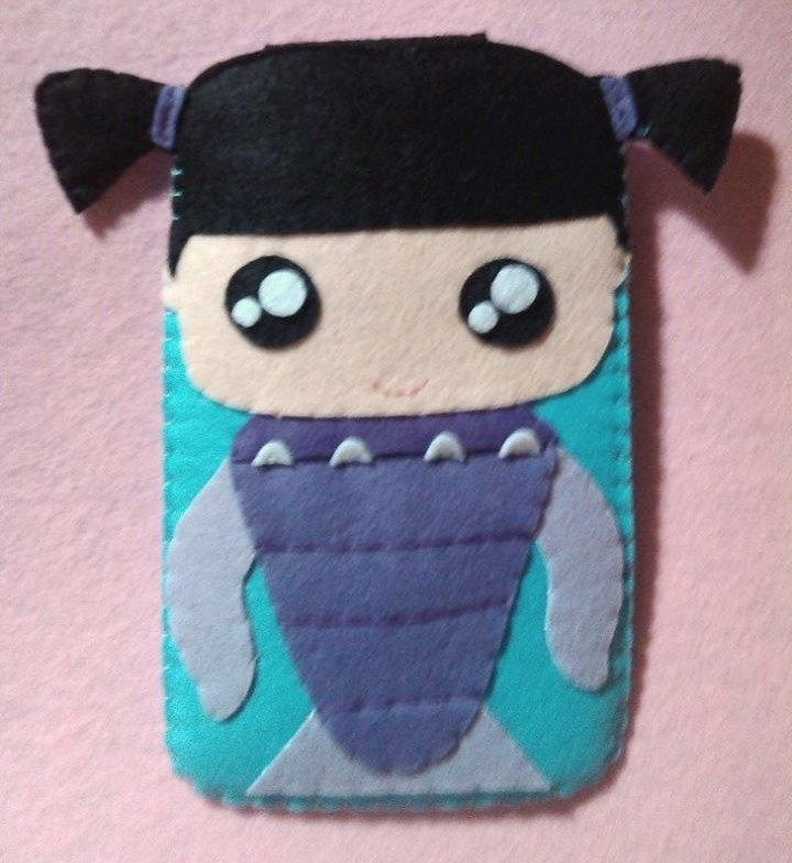 Cute Boo (Momster Inc.) HANDMADE  felt pouch and case for ipad, ipad mini and any other gadgets We also accept customize and personalize order :)