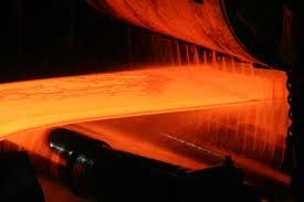 strip mill production of hot rolled coil
