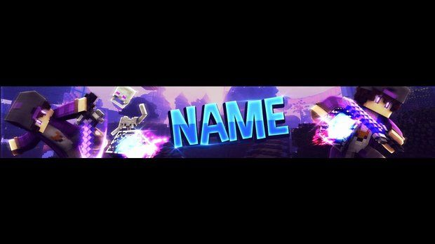 Banner Template No Text Best Of Free Minecraft Youtube Banner Template Purple Birthday Banner Template Banner Template Party Banner Template