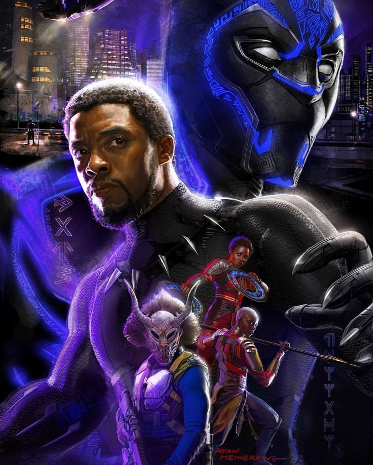 Black Panther SDCC '17 poster by Ryan Meinerding
