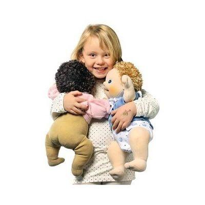 Lieve babypoppen van RubensBarn zijn handgemaakt en komen uit Zweden.