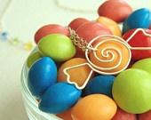 candy necklace: Shoppe Candies, Candies Spirals, Candies Collection, Spirals Necklaces, Hard Candies, Candies Necklaces