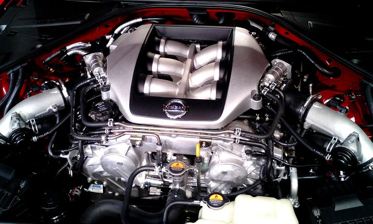 ❤ Best of Nissan @ MACHINE ❤ (Nissan GT-R Engine Bay View)