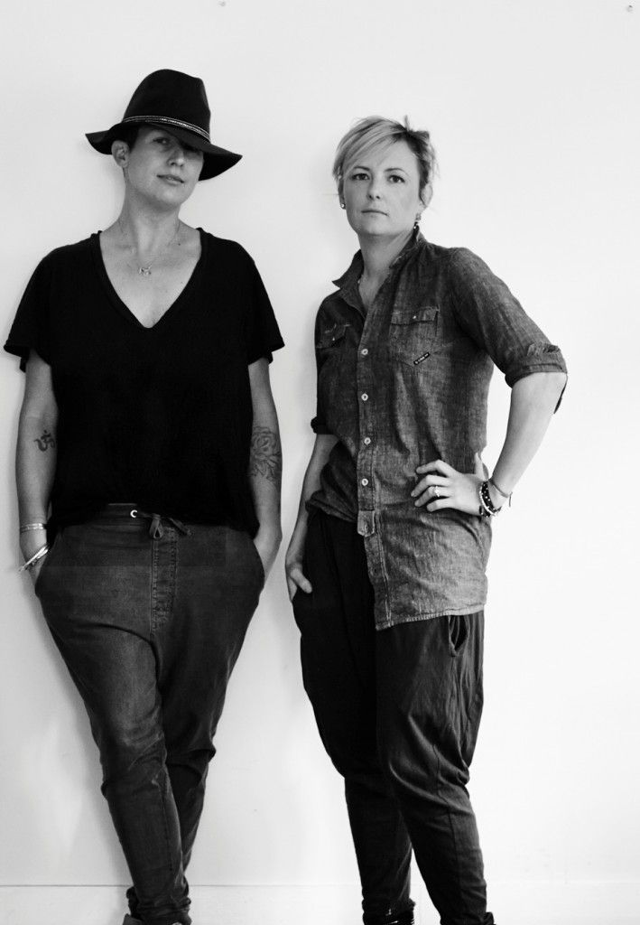 Jane Frosh (left) and Lucy Weight from Cool Edie's. Photo by Alicia Taylor.