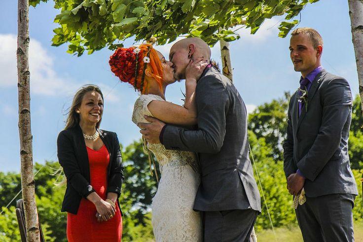 #freepeople #Outdoorwedding #Hippiewedding #Dreads #Reddreads