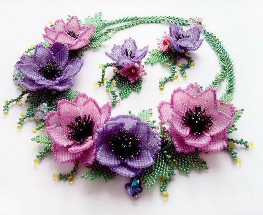 beautiful beaded ring patterns | Beautiful Beaded jewelry by Natalia Savelieva | Beads Magic