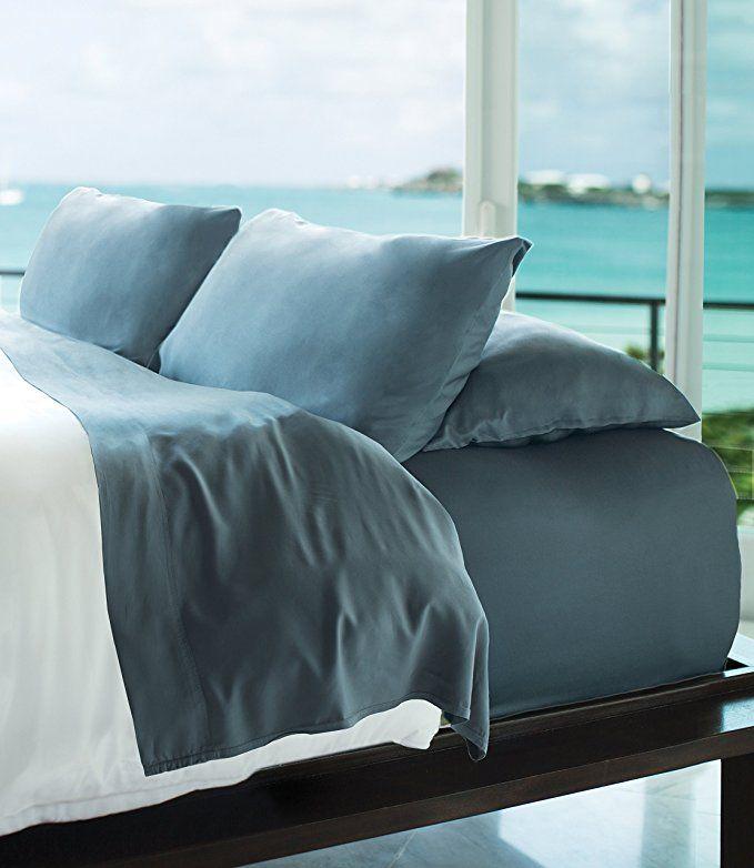 Amazon Com Cariloha Resort Bamboo Sheets 4 Piece Bed Sheet Set