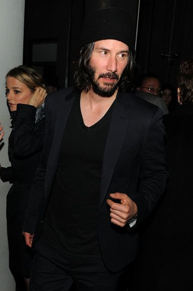 """Keanu Reeves Photos Photos - Actor Keanu Reeves attends the Cinema Society with DeLeon Tequila and Moving Pictures Film & Television After Party Of """"Henry's Crime"""" at The Trilby at The Cooper Square Hotel on April 4, 2011 in New York City. - The Cinema Society With DeLeon Tequila And Moving Pictures Film & Television Host A Screening Of """"Henry's Crime"""" - After Party"""